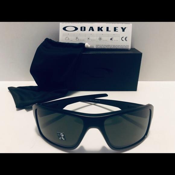 eea308f507e6 Oakley Double Edge Sunglasses Matte Black  Gray 66
